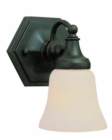 Trans Globe Lighting 2596 ROB One Light Wall Sconce in Rubbed Oil Bronze Finish - Quality Discount Lighting