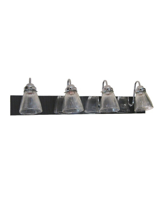 Angelo Lighting 66535 CH - CLG3 Four Light Bath Vanity Wall Mount in Polished Chrome Finish