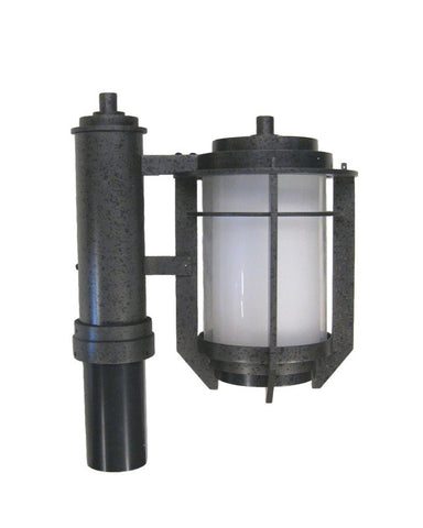 Kalco Lighting 9479IR One Light Exterior Outdoor Post Lantern in Iron Finish - Quality Discount Lighting