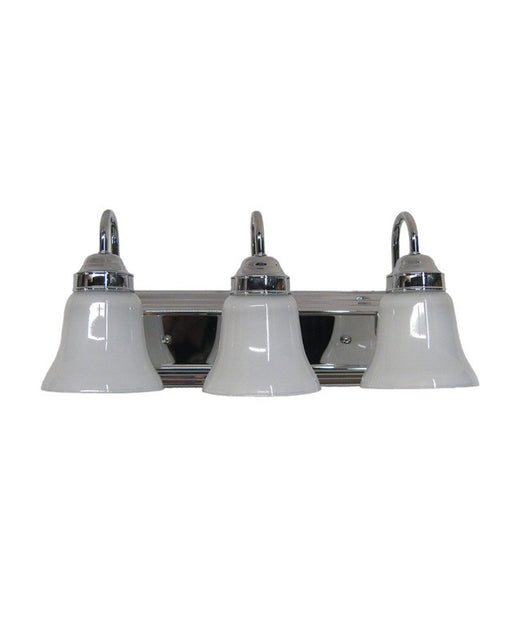 Epiphany Lighting 106046 CH   2537 Three Light Bath Wall Fixture In  Polished Chrome Finish