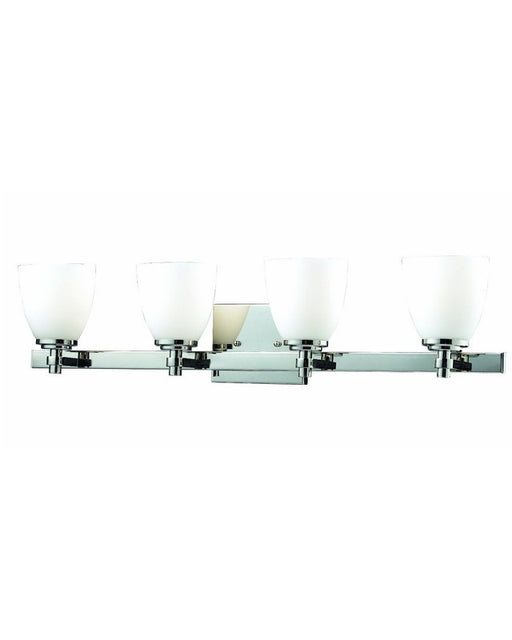 Z-Lite Lighting 1903-4V-CH Four Light Bath Vanity Wall Mount in Polished Chrome Finish - Quality Discount Lighting