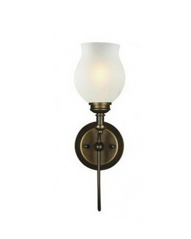 Z-Lite Lighting 301-1S-OB One Light Wall Sconce in Olde Bronze Finish - Quality Discount Lighting