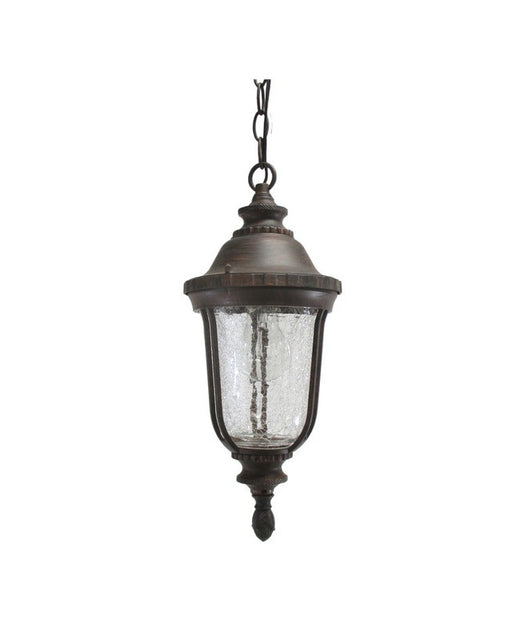 Epiphany Lighting 102074 VB One Light Cast Aluminum Hanging Outdoor Exterior in Venetian Bronze Finish - Quality Discount Lighting
