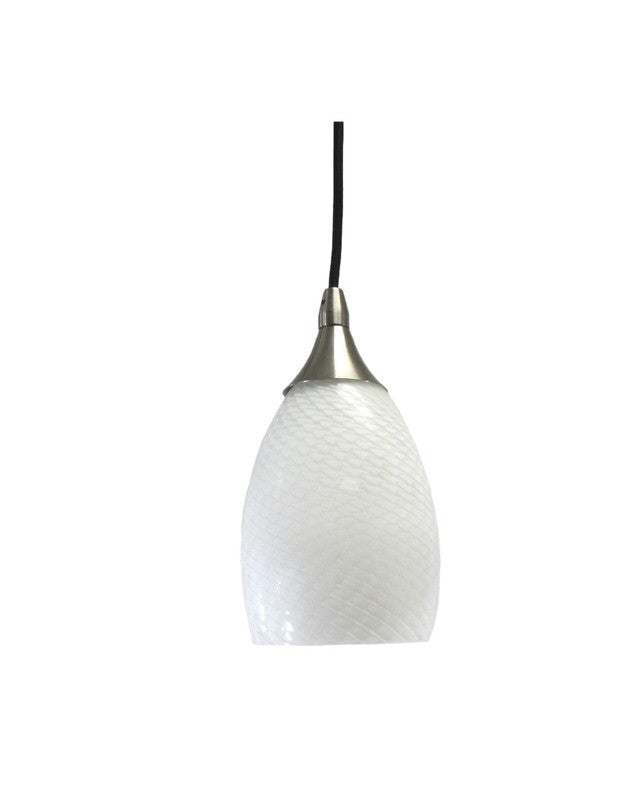 epiphany lighting pcp206 bn one light mini pendant in brushed nickel