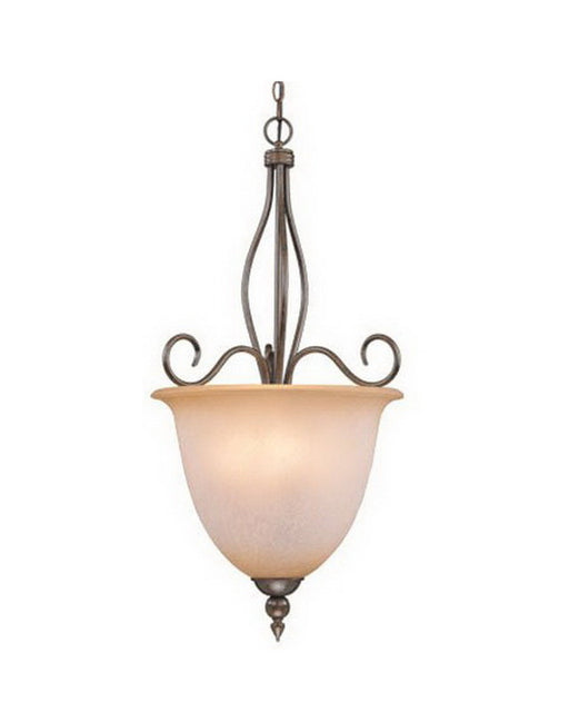 Vaxcel Lighting PD35727 RBZB Four Light Hanging Pendant Chandelier in Royal Bronze Finish - Quality Discount Lighting