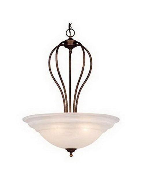 Vaxcel Lighting PD65324 WP Five Light Hanging Pendant in Weathered Patina Finish - Quality Discount Lighting