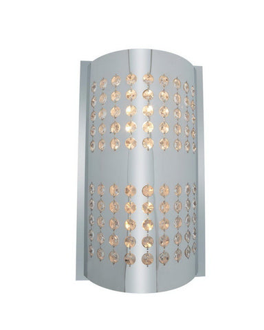 Access Lighting 62274 CHCRY One Light Halogen Wall Sconce in Polished Chrome and Crystal Finish - Quality Discount Lighting