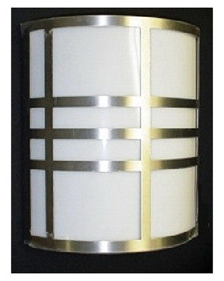 Rainbow Lighting 1199 SN Two Light ADA Energy Saving Fluorescent Wall Sconce in Satin Nickel Finish - Quality Discount Lighting