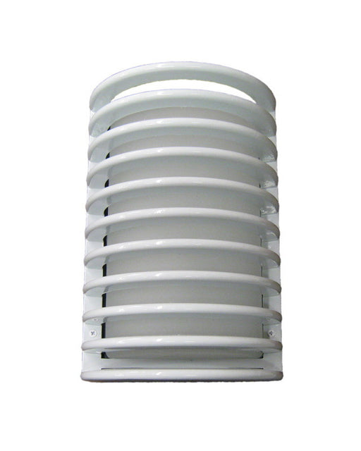 Epiphany Lighting 103350 WH One Light Bulkhead Outdoor Wall Mount Exterior in White Finish - Quality Discount Lighting