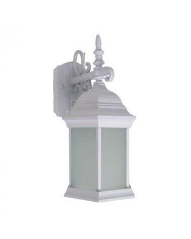 Epiphany Lighting EB470-13WH Exterior Outdoor Energy Efficient Wall Lantern in White Finish - Quality Discount Lighting