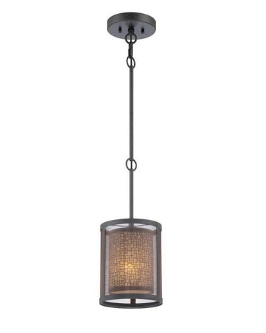 Quoizel Lighting TRN1507TM One Light Teco Marrone Finish Mini Pendant - Quality Discount Lighting