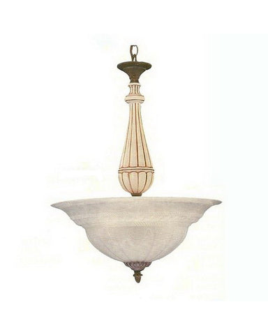 International Lighting 22821-22 Five Light Pendant Chandelier in Textured Bronze Finish - Quality Discount Lighting