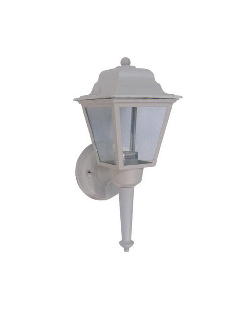 International Lighting X7524-30 One Light Exterior Outdoor Wall Mount in White Finish - Quality Discount Lighting