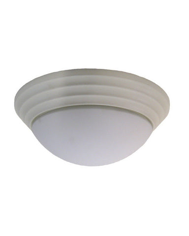 Leadco Lighting 0942 TW Three Light Flush Ceiling Mount in Textured White Finish - Quality Discount Lighting