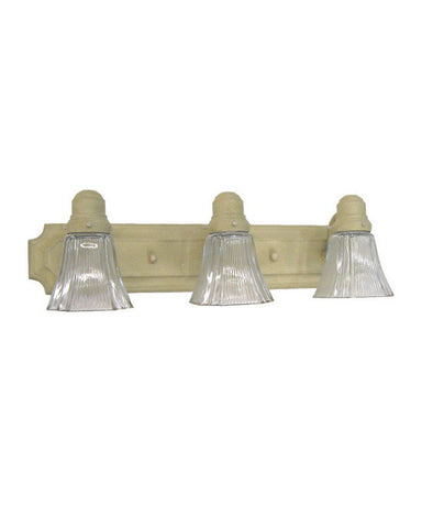 NC Lighting 2503GS-68010204 Three Light Bath Vanity Wall Mount in Golden Sand Finish - Quality Discount Lighting