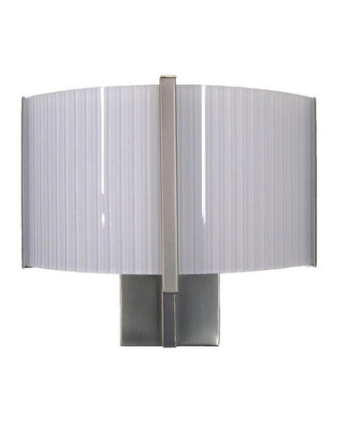 Quoizel Lighting CON260 Q Two Light Energy Efficient Fluorescent Wall Sconce in Brushed Nickel Finish - Quality Discount Lighting