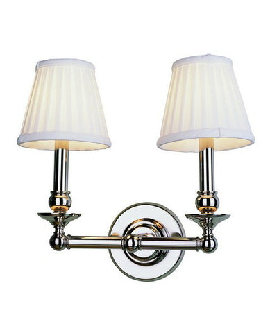 Trans Globe Lighting 2042 SN Transitional Two Light Wall Mount in Satin Nickel Finish - Quality Discount Lighting