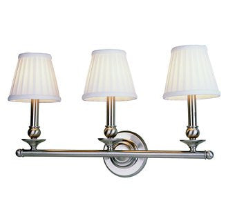 Trans Globe Lighting 2043 PN Transitional Three Light Wall Mount in Polished Nickel Finish - Quality Discount Lighting