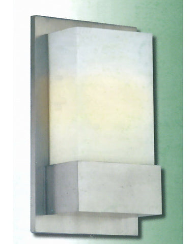Epiphany Lighting 103232 BN One Light Energy Efficient Fluorescent Wall Sconce in Brushed Nickel Finish - Quality Discount Lighting