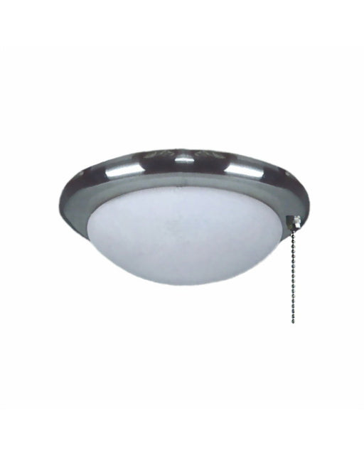 Epiphany Gu103340 700 Bn Energy Efficient Fluorescent 11 Ceiling Fan Light Kit In Brushed Nickel Finish And Frosted Glass