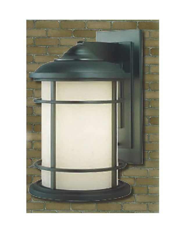 epiphany lighting 104957 orb one light outdoor wall lantern in oil