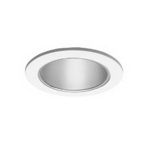 Epiphany 400516 WHT LOW VOLTAGE Four Inch White and Clear Recessed Can Trims that Works with HALO - Quality Discount Lighting