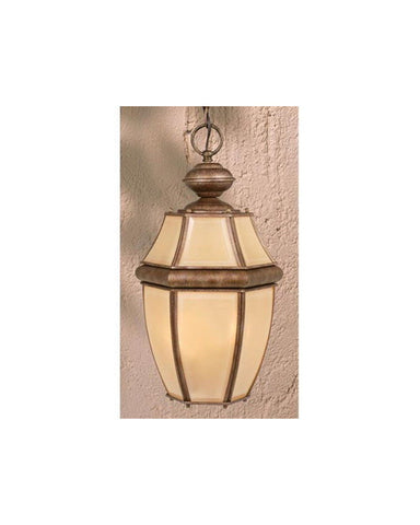 Vaxcel Lighting OD6916 DP Outdoor Hanging Lantern in Cordovan Patina Finish - Quality Discount Lighting