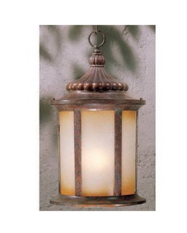 Vaxcel Lighting OD39006 RBZ Three Light Outdoor Exterior Hanging Lantern in Royale Bronze Finish - Quality Discount Lighting