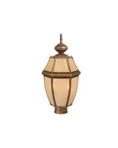 Vaxcel Lighting OP6915 DP Exterior Outdoor Post Lantern in Cordovan Patina Finish - Quality Discount Lighting