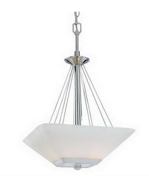 Vaxcel Lighting KD-PDU150 CH Kendall Collection Three Light Pendant Chandelier in Polished Chrome Finish - Quality Discount Lighting