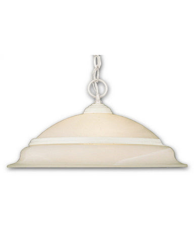 Vaxcel Lighting PD5318 SW One Light Hanging Pendant in Stone White Finish - Quality Discount Lighting