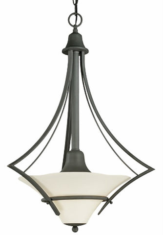Thomas Lighting M2571-63 Asia Minor Collection Two-light Pendant Chandelier in Painted Bronze Finish