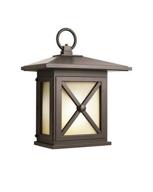 Aluche by Kichler Lighting 31191 Molina Collection One Light Fluorescent Energy Saving Exterior Outdoor Wall Mount in Old Bronze Finish - Quality Discount Lighting
