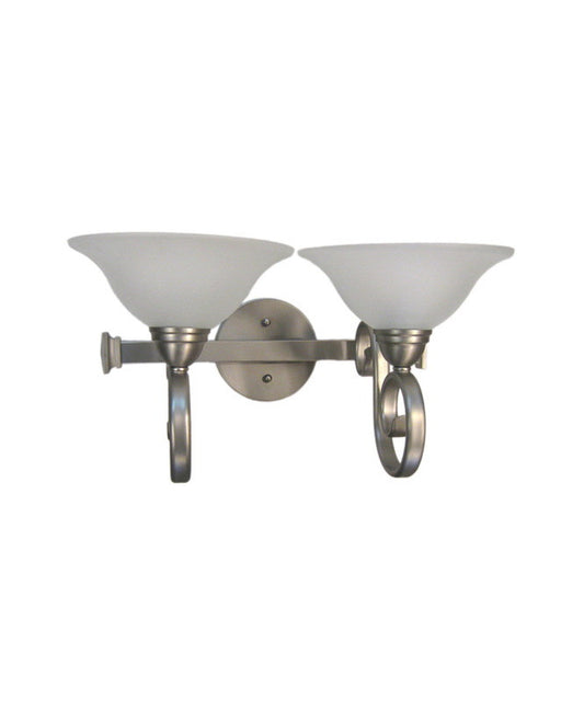 Epiphany Lighting 106152 BN-112 Two Light Bath Wall Sconce in Brushed Nickel Finish
