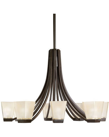 Kichler Lighting 2260 OZ Eight Light Chandelier in Old Bronze Finish - Quality Discount Lighting