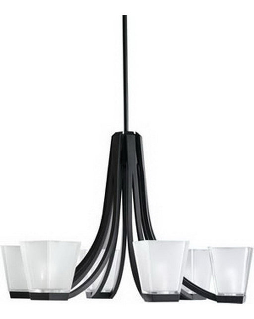 Kichler Lighting 1959 BK Six Light Chandelier in Black Finish - Quality Discount Lighting