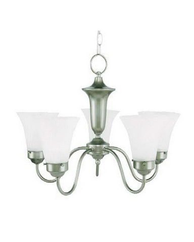 Leadco Lighting 1264 JM Five Light Chandelier in Jade Mist (Green) Finish - Quality Discount Lighting