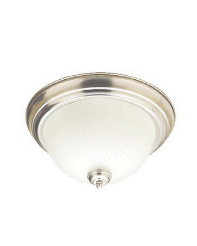 Flush mount lighting quality discount lighting leadco lighting 956 bn one light flush ceiling mount in brushed nickel finish quality discount aloadofball Gallery