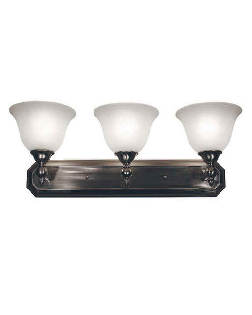 Z-Lite Lighting 901-3V-BN Three Light Bath Vanity Wall Mount in Brushed Nickel Finish - Quality Discount Lighting