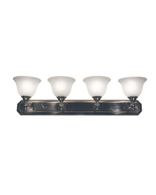 Z-Lite Lighting 901-4V-BN Four Light Bath Vanity Wall Mount in Brushed Nickel Finish - Quality Discount Lighting