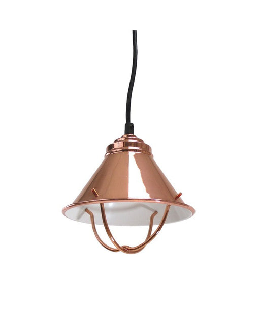 Epiphany Lighting 102115 CO TCC One Light Metal Pendant in Bright Polished Copper Finish - Quality Discount Lighting