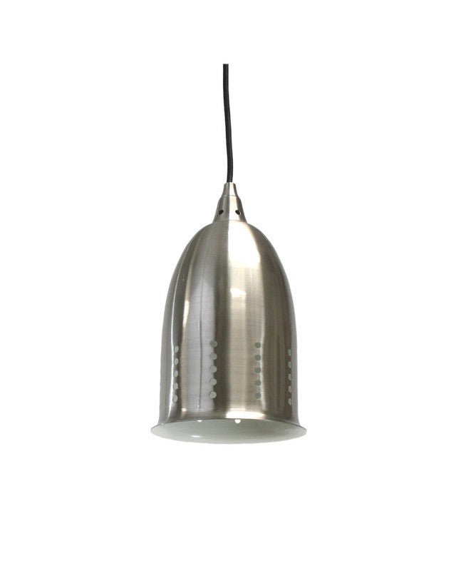 epiphany lighting pcp109 bn one light mini pendant in brushed nickel