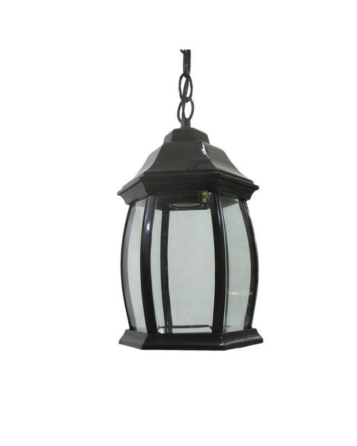 Epiphany Lighting 102474 BK One Light Cast Aluminum Hanging Outdoor Exterior in Black Finish - Quality Discount Lighting
