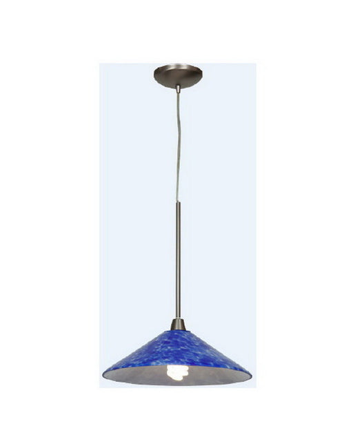 Access Lighting 28515 BS-COB One Light Energy Efficient GU24 Fluorescent Pendant in Brushed Steel Finish - Quality Discount Lighting