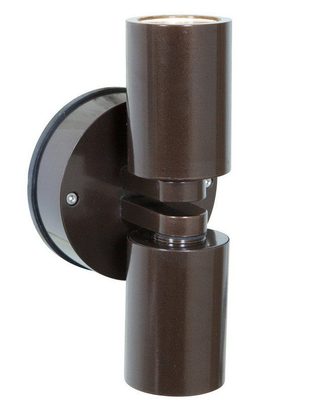 Access Lighting 20353MG BRZ-CLR Two Light Exterior Outdoor Wall Mount in Bronze Finish