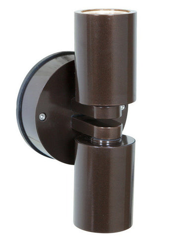 Access Lighting 20353MG BRZ-CLR Two Light Exterior Outdoor Wall Mount in Bronze Finish - Quality Discount Lighting