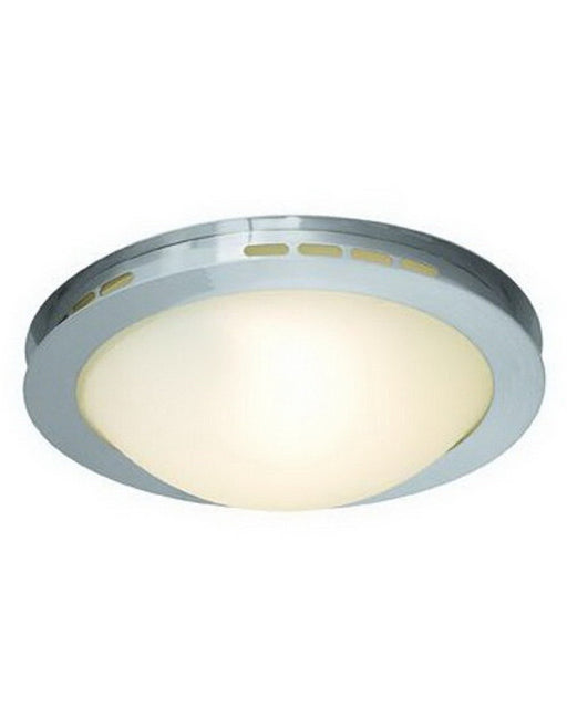 Access Lighting 50083 BSOPL One Light Halogen Flush Ceiling Mount in Brushed Steel Finish - Quality Discount Lighting