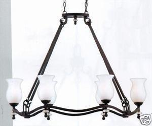 Quoizel Lighting KM638 BP Kimball Collection Hanging Chandelier in Bronzed Copper Finish - Quality Discount Lighting