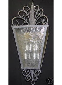 Designers Fountain Lighting 358-26 Eight Light Hanging Pendant in Old Silver Finish - Quality Discount Lighting