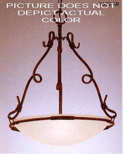 Designers Fountain Lighting 5632 SA Three Light Hanging Pendant Chandelier in Sandstone Finish - Quality Discount Lighting